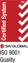 SAI Global ISO 9001 certification